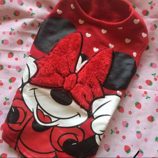 ディズニー(Disney)のワンチャン お洋服 ミニー 未使用 M 中型犬に 送料込400円(犬)