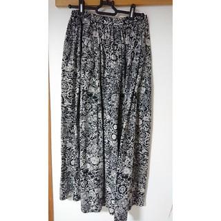 スタディオクリップ(STUDIO CLIP)のスタディオクリップ  アドバンスライン 花柄スカート(ひざ丈スカート)