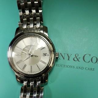 Tiffany & Co. - 最安値 Tiffany &Co.マーク ラウンド 自動巻き オーバーホール済み