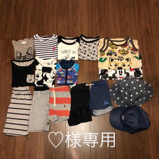 H&M - 男の子70,80,90,95 夏まとめ売り17セット