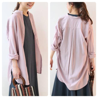 JOURNAL STANDARD - relume リヨセルセイヒンゾメロングシャツ 完売商品 ピンク