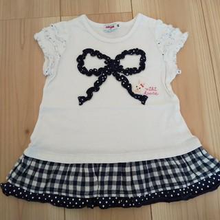 mikihouse - ミキハウス Tシャツ チュニック 90