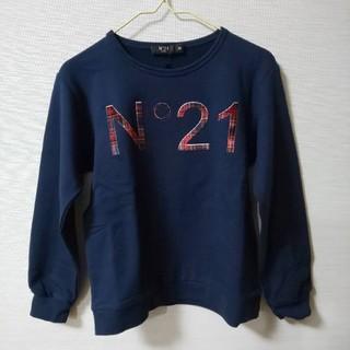 ヌメロヴェントゥーノ(N°21)の【新品】No°21 ロゴスウェット Tシャツ 30(Tシャツ/カットソー)