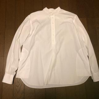 Drawer - ドゥロワー  スタンドカラーシャツ36