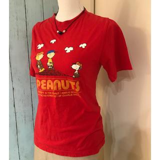 ピーナッツ(PEANUTS)のスヌーピー❁¨̮トップス(Tシャツ(半袖/袖なし))