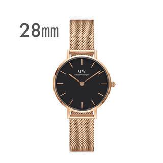 Daniel Wellington - 【28㎜】ダニエル ウェリントン腕時計DW00100217《3年保証付》