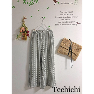 テチチ(Techichi)の☆Techichi☆テチチテラス  アジアンテイストワイドパンツ(カジュアルパンツ)