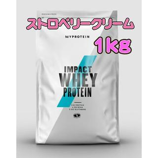 MYPROTEIN - Impactホエイプロテイン(ストロベリークリーム)1kg