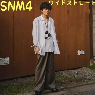 サンシー(SUNSEA)のSNM4 Wide Straight Pants ワイドストレート【サイズ・2】(スラックス)