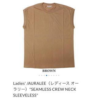 デミルクスビームス(Demi-Luxe BEAMS)のAURALEE SEAMLESS  オーラリー シームレス クルーネック (Tシャツ(半袖/袖なし))
