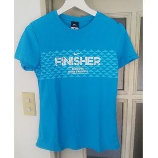 ナイキ(NIKE)の新品未使用 ナイキ 名古屋ウィメンズマラソン2012&2015完走者Tシャツ M(ウェア)