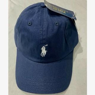 POLO RALPH LAUREN - 新品タグ付き ポロ・ラルフローレン 帽子 ネイビー/ホワイトポニー 高品質