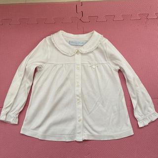 タルティーヌ エ ショコラ(Tartine et Chocolat)のタルティーヌエショコラ ニットシャツ 90cm(Tシャツ/カットソー)