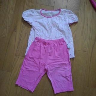 ユニクロ(UNIQLO)の半袖パジャマ 100(パジャマ)