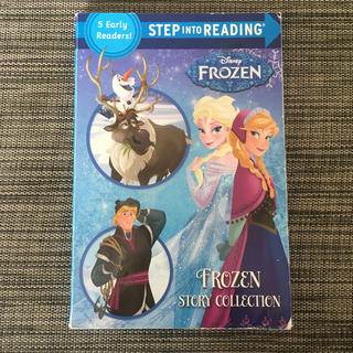 Disney FROZEN step into reading