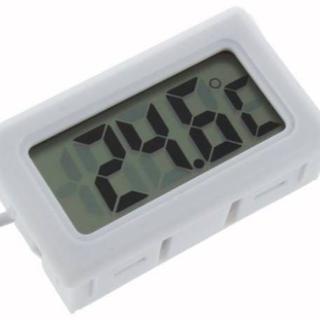 ★☆デジタル LCD 水温計 温度計 白色☆★(爬虫類/両生類用品)