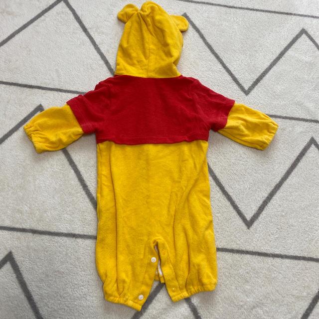Disney(ディズニー)のぷーさん着ぐるみロンパース✴︎50〜60cm キッズ/ベビー/マタニティのベビー服(~85cm)(ロンパース)の商品写真