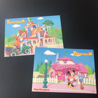 ディズニー(Disney)のディズニーポストカード  おまけ付き(写真/ポストカード)