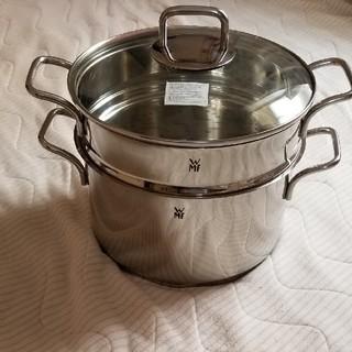 ヴェーエムエフ(WMF)のWMF  ヴェーエムエフ 鍋&蒸かし器 ガラス蓋付き(鍋/フライパン)