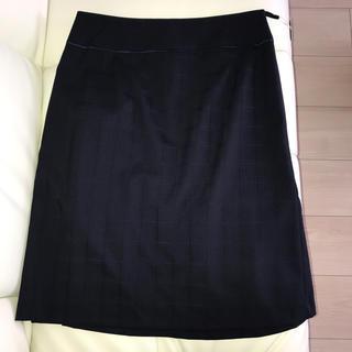 ORIHICA - ORIHICA レディース  スーツスカートのみ 紺チェック