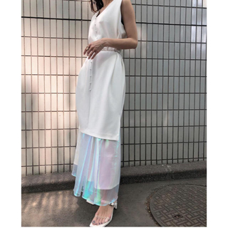 Ameri VINTAGE - アメリヴィンテージ  AURORA LAYERED DRESS