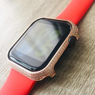 アップルウォッチ(Apple Watch)のアップルウオッチ用 ベゼルカバー 44mm用(その他)