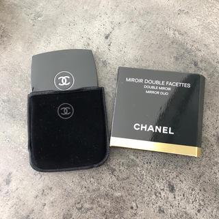 シャネル(CHANEL)のCHANEL シャネル ミラー 鏡 ミロワールドゥーブルファセット(ミラー)