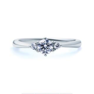 ヨンドシー(4℃)の4°C ダイヤモンドリング0.522ct E VS2 Ex /HC期間限定値下げ(リング(指輪))