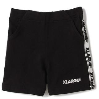エクストララージ(XLARGE)の新品【120cm】XLARGE サイドライン ミニ裏毛 ショートパンツ(パンツ/スパッツ)
