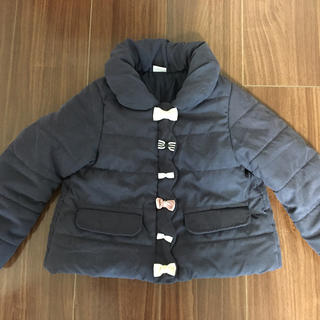 プティマイン(petit main)のプティマイン サイズ110 リボン付き アウター(ジャケット/上着)