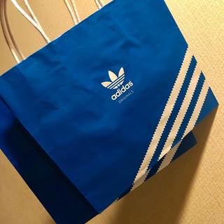 アディダス(adidas)の2枚 ショッパー ショップ袋 紙袋 アディダス オリジナルス adidas(ショップ袋)
