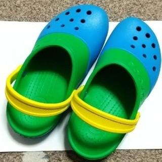 crocs - ほぼ新品★クロックス/crocs エレクトロ2.0クロッグ(J1/19.5cm)
