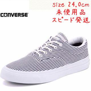 CONVERSE - コンバース デニム スニーカー size24.0cm 未使用品