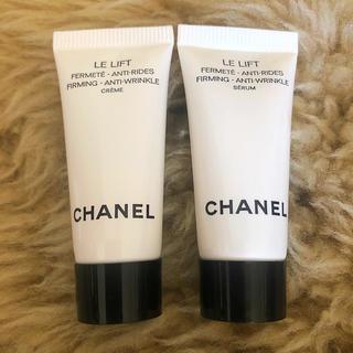 シャネル(CHANEL)のCHANEL シャネル  LE LIFTセラム&クリーム(サンプル/トライアルキット)
