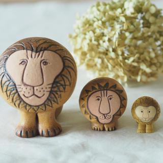 Lisa Larson - Lisa Larson(リサラーソン )ライオン2個+おまけ
