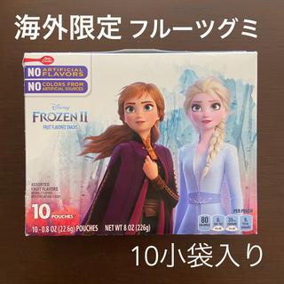 ディズニー(Disney)の海外限定 アナと雪の女王 フルーツグミ お菓子 アナ雪2 frozen エルサ(菓子/デザート)