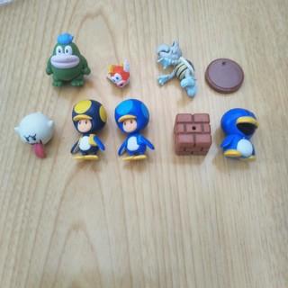 フルタセイカ(フルタ製菓)のスーパーマリオ チョコエッグWii テレサ ペンギン ガボン プクプク ガロン (ゲームキャラクター)