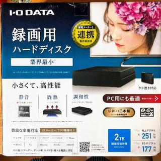 アイオーデータ(IODATA)のHDCZ-UT2KC [ブラック] 2TB(ブルーレイレコーダー)