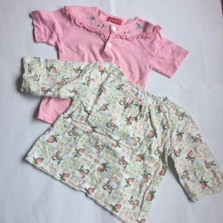 エスプリ(Esprit)のカットソー 100cm 半袖&7分袖 2枚(Tシャツ/カットソー)