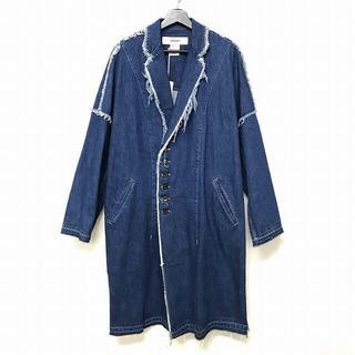 Yohji Yamamoto - 新品 タグ付 sulvam サルバム クラッシュデニム オーバー コート L