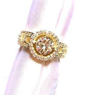 K18  0.98ct ダイヤリング(リング(指輪))