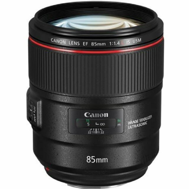 Canon(キヤノン)の【miiko様専用】キヤノン EF85F1.4LISUSM スマホ/家電/カメラのカメラ(レンズ(単焦点))の商品写真