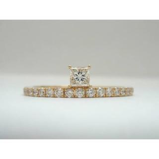 アーカー(AHKAH)のAHKAH アーカー ティナプリンセス リング k18 ダイヤモンド (リング(指輪))
