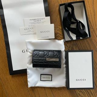 グッチ(Gucci)のグッチ キーケース 黒(キーケース)