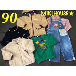 mikihouse - MIKI HOUSE ミキハウス★秋冬6点 男の子まとめ売り 90