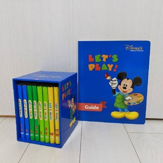 Disney - 【同時購入で3750円】レッツプレイ DVD8本+ガイド本