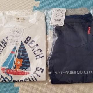 ホットビスケッツ(HOT BISCUITS)のミキハウス ホットビスケッツ Tシャツ パンツ 110センチ 新品(Tシャツ/カットソー)