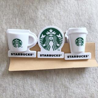 スターバックスコーヒー(Starbucks Coffee)のスターバックス⭐︎クリップ3個セット(ノベルティグッズ)