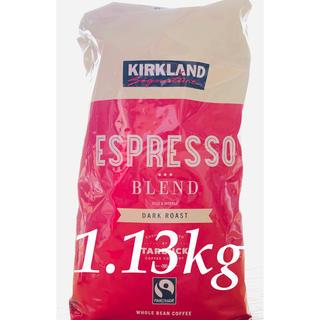 スターバックスコーヒー(Starbucks Coffee)の【増量907g⇨1.13kg】カークランド スターバックス エスプレッソコーヒー(コーヒー)