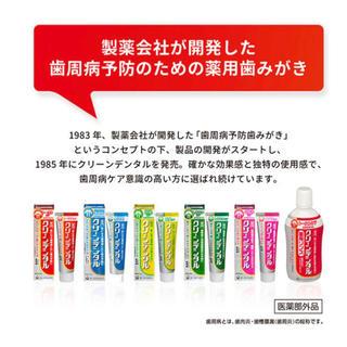 値下げ!歯磨き粉 グリーンデンタル 携帯用6本(歯磨き粉)
